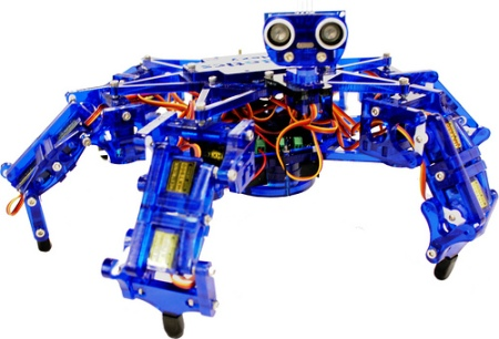 MakerFaire K C : Hexy, The $200 Hexapod Project | Hackaday