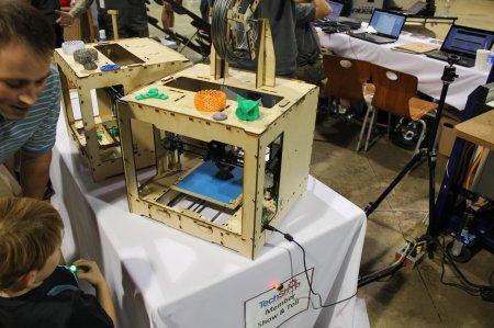 NC Maker Faire 2012 3D printer