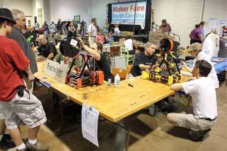 raleigh maker faire 2012