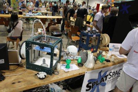 Maker Faire NC 2012 Splat Space