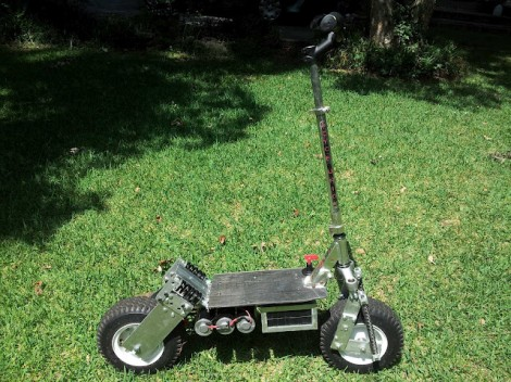 All-terrain Electric Scooter Build | Hackaday
