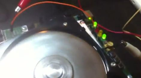 Repurposing Old HDD Components | Hackaday