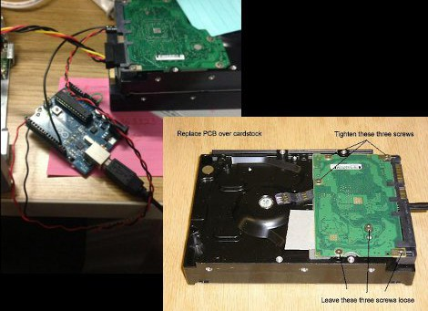 Recovering From A Seagate HDD Firmware Bug | Hackaday