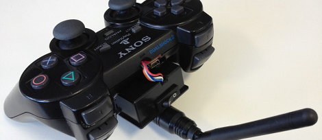 Need A Quadcopter Transmitter? Use A PS2 Controller! | Hackaday