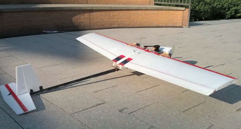 Autonomous Fixed-wing Drone Threads The Needled In A Parking