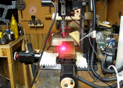 Laser Diode Controller For A CNC Mill | Hackaday