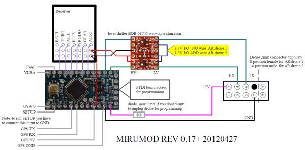 [SCHEMATICS_48IU]  Extending The Range Of The AR Drone, 2 Ways.   Hackaday   Ar Drone 2 0 Wiring Diagram      Hackaday