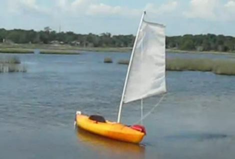 Kayak To Sailboat Conversion Shows How To Weld Plastics