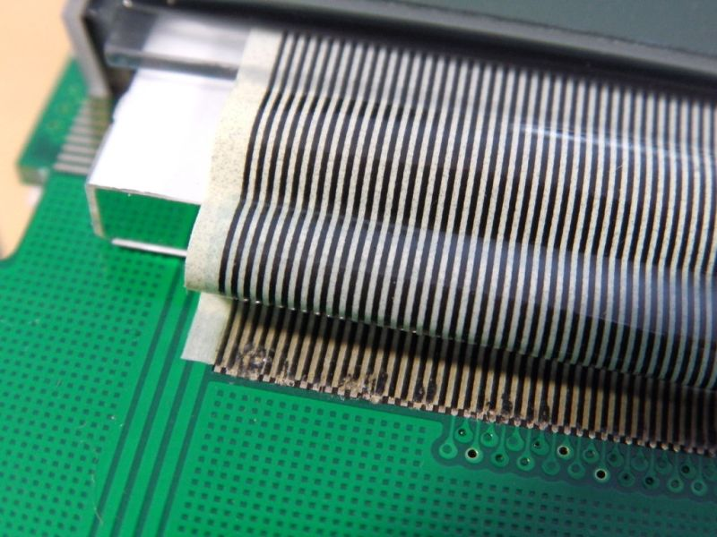 How To Repair A Ribbon Cable Connection On Consumer