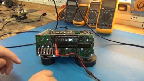 Repairing A VFD Driver On A Car Stereo | Hackaday