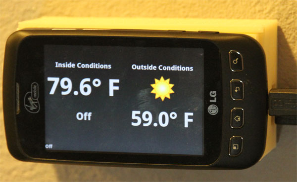 Open Source Android Thermostat | Hackaday