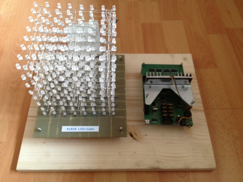 8x8x8 LED Cube And The Board That Drives It | aday on 5x5x5 led cube schematic, jameco led cube schematic, cut airplane schematic, led matrix schematic, 4x4x4 led cube schematic, 3x3x3 led cube schematic,