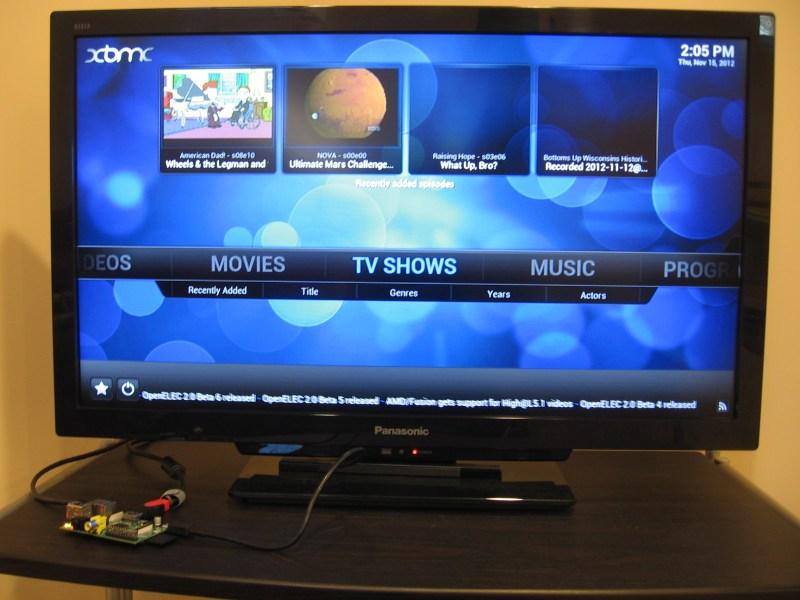Raspberry Pi Reaches Critical Mass As XBMC Hardware | Hackaday
