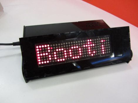 BeagleBone Powers This Networked LED Marquee | Hackaday