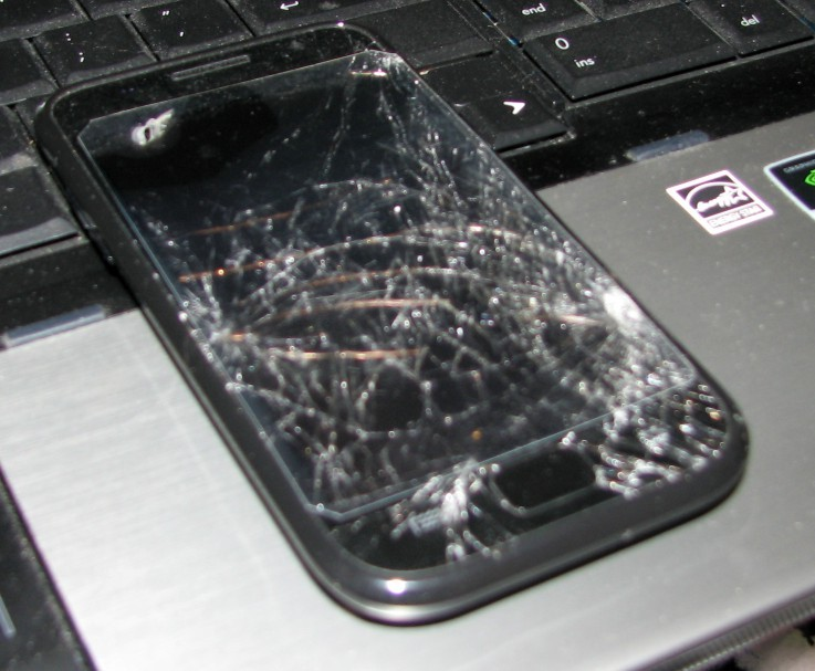 How To Used An Android Device With A Shattered Screen   Hackaday