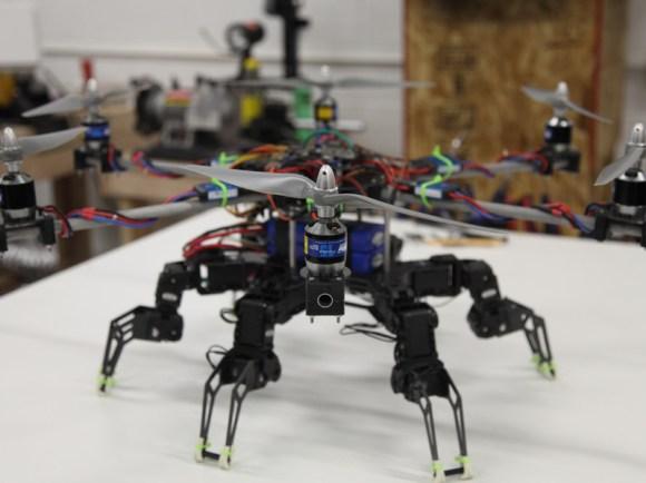 Hexapod Hexacopter