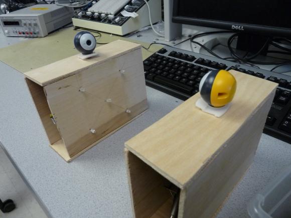 Morse Code IR Transceivers