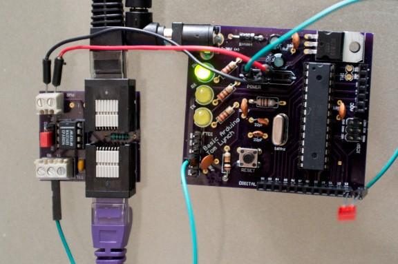 RS-485 Node Control For Arduino | Hackaday