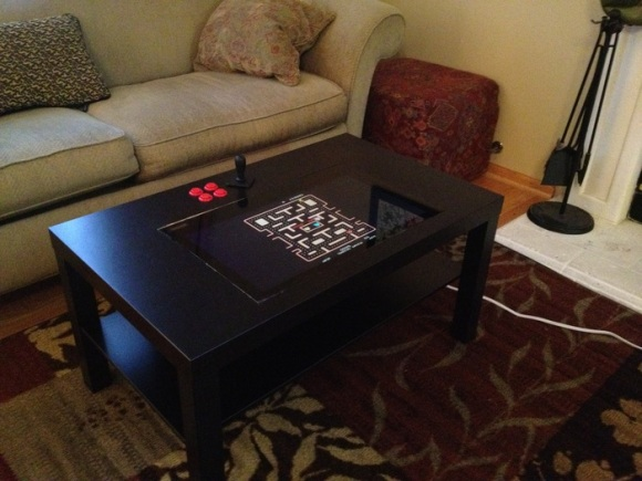 Mame Coffee Table.Coffee Table Arcade Cabinet Hackaday