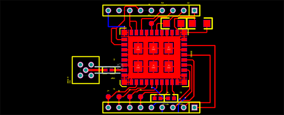 A Breakout Board For A Tiny WiFi Chip | Hackaday