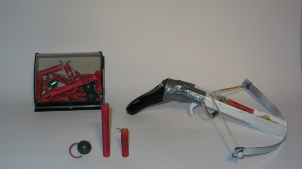 if firecracker-crossbows are outlawed, only outlaws will have firecracker-crossbows!
