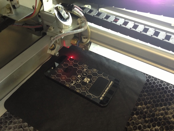 Laser Etched iPhone 5