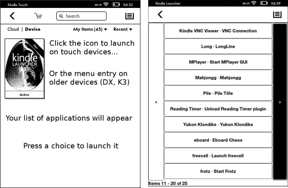 One Kindle Launcher To Rule Them   Hackaday