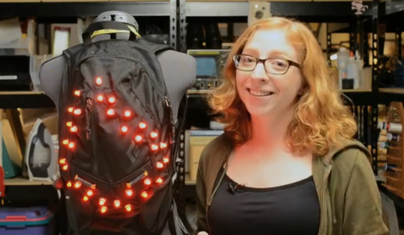 led-motorcycle-backpack