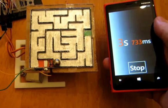 smartphone-controlled-labyrinth