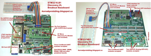 stm32-discovery-breakout-boards