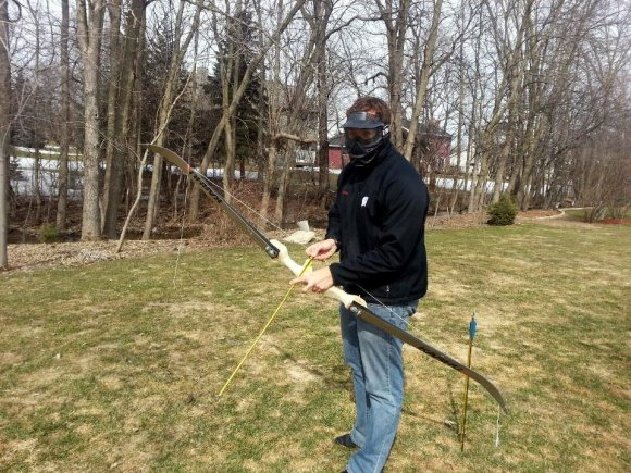 Recurve Bow Make From Wood And Skis | Hackaday
