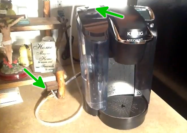 Keurig Runs A Water Supply Line To Your Coffee Maker ... on keurig coffee parts diagram, keurig b60 wiring-diagram, keurig schematic diagram, keurig b40 diagram, keurig coffee makers on sale,