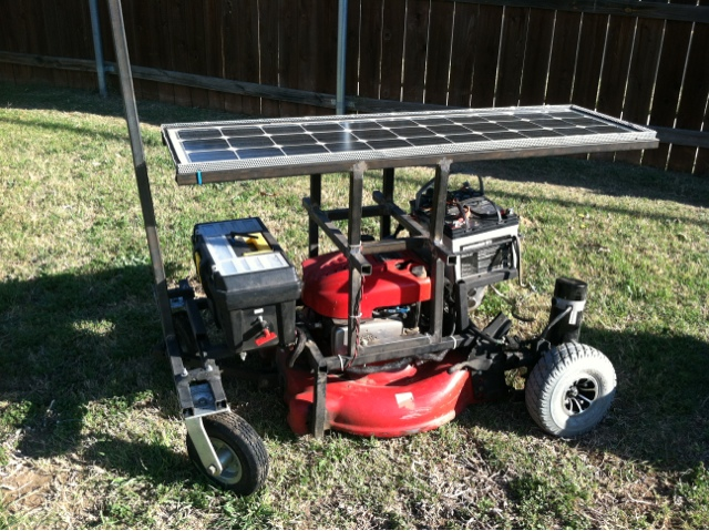 Solar Powered Robot Mows Your Lawn While You Chill Indoors