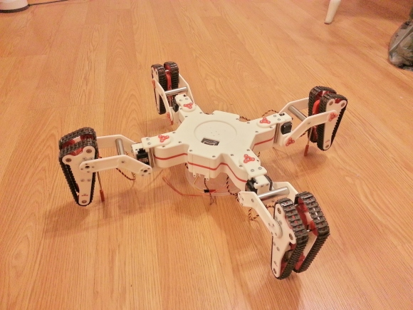 tracked-quadruped-robot