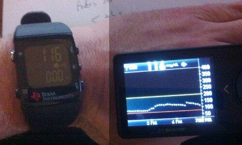 Blood Glucose Monitor Data Pushed To Smart Watch | Hackaday