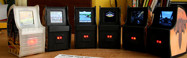 The Tiniest Arcade Cabinets You've Ever Seen | Hackaday
