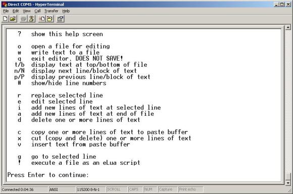 bare-metal-elua-text-editor