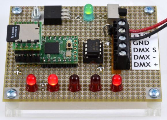 embedded-dmx-controller