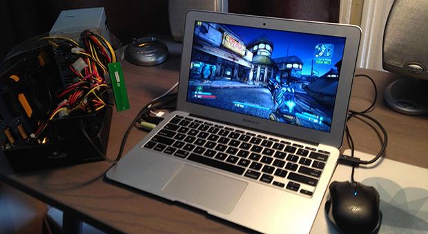 A Macbook Air And A Thunderbolt GPU | Hackaday