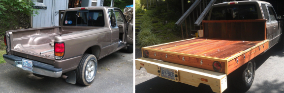 Wooden Flatbed Truck Conversion Hackaday