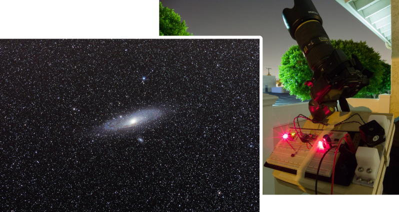 Building A Barn Door Tracker For Astronomical Photography ...