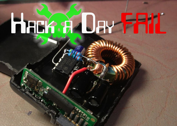 Fail Of The Week: Switched-mode PSU Camera Battery