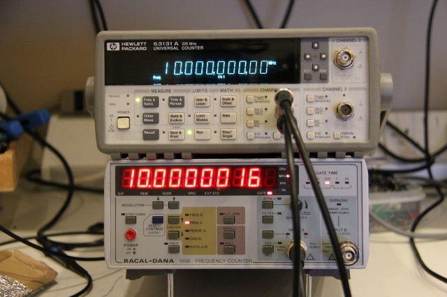 Making A HP Frequency Counter More Accurate | Hackaday