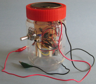 A Crystal Radio Amplifier In A Jar | Hackaday
