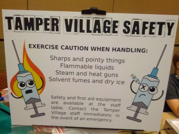 Tamper Village Safety