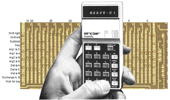 Ken Shirriff] Completely Reverse Engineers The 1974 Sinclair