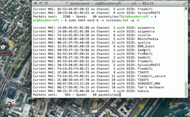 Spoofing WiFi AP Based Geolocation | Hackaday
