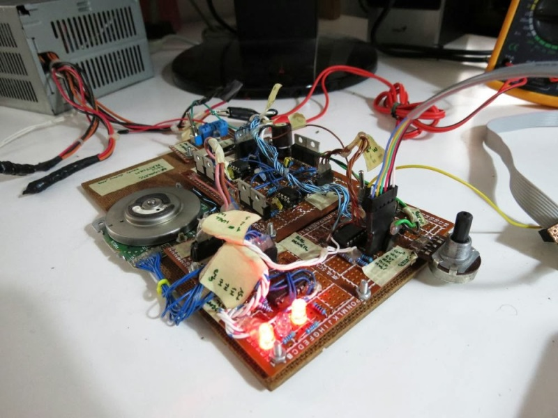 Building A Brushless Motor Controller Around An ATmega Chip