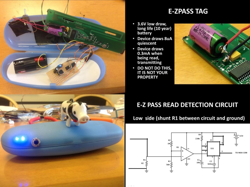 Modified E-ZPass Detects Reads Far From Toll Booths | Hackaday