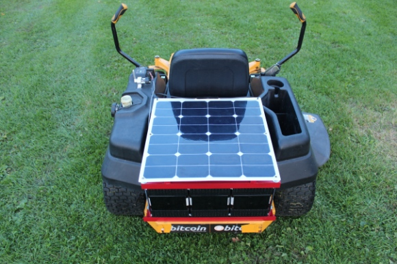 Electrified Yard Equipment Hauls Grass | Hackaday